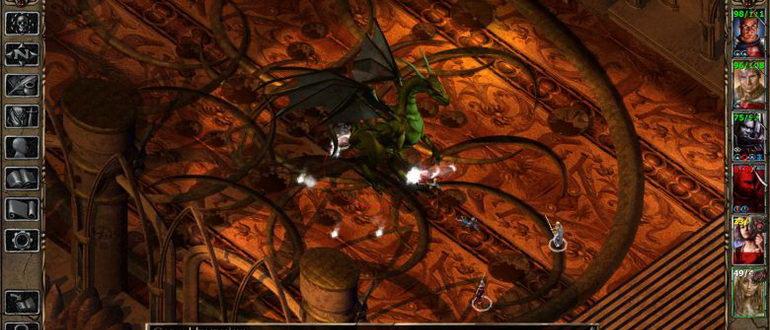 скрин из игры Серия Baldur's Gate
