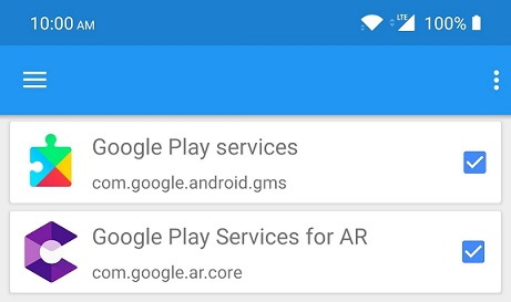 google play services for ar что за приложение