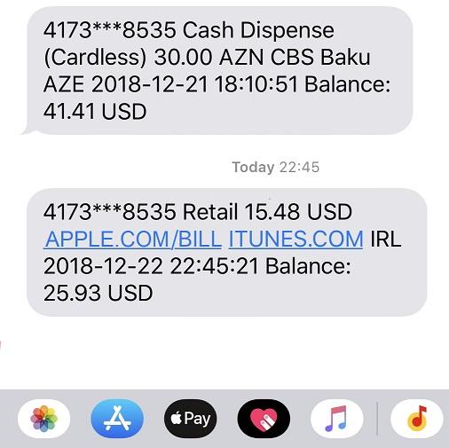 apple com bill сняли деньги с карты сбербанка что это